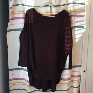 Sweaters - Drop shoulder tunic sweater